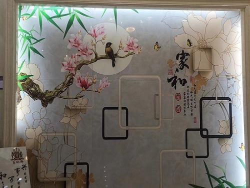 玻璃瓷砖石材装饰背景墙加工