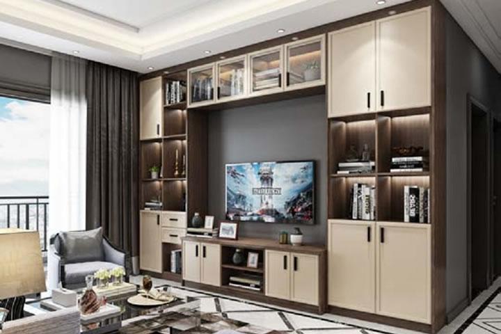 全铝电视柜,成都钛镁铝合金家具厂家