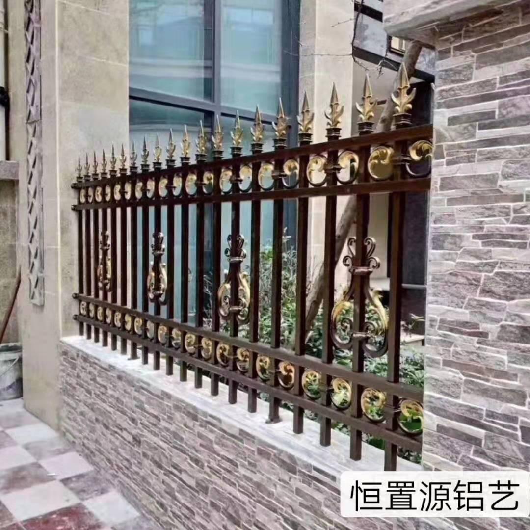 铝艺围栏效果图,厂家团购花园栏杆