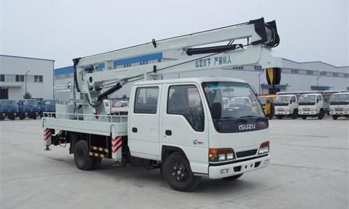 庆铃16-18米高空作业车