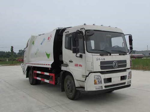 8吨压缩式垃圾车
