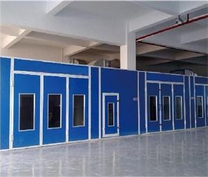 家具无尘烤漆房--泉为蓝中央除尘系统