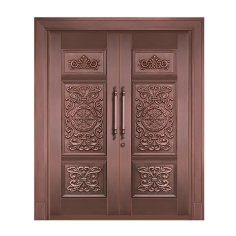 上海整版铜门定做