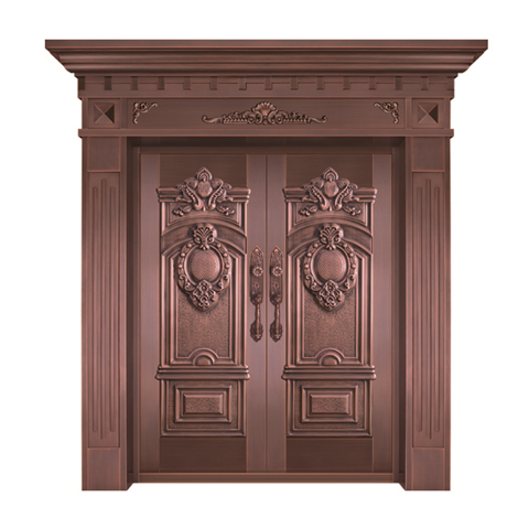 上海整版铜门
