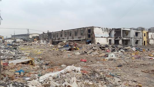 天门工厂拆迁