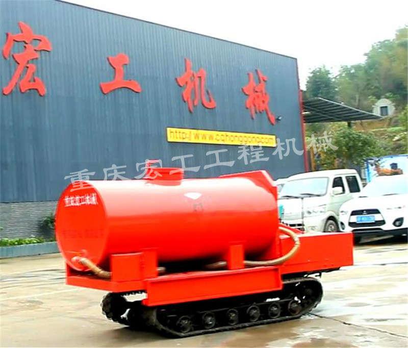 小型履带消防车