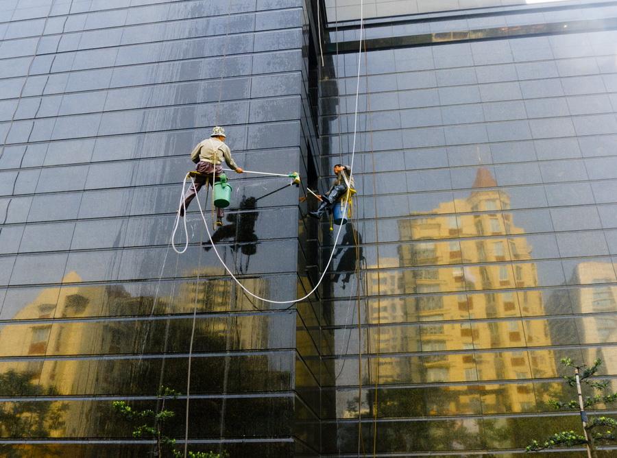 高楼大厦外墙清洗