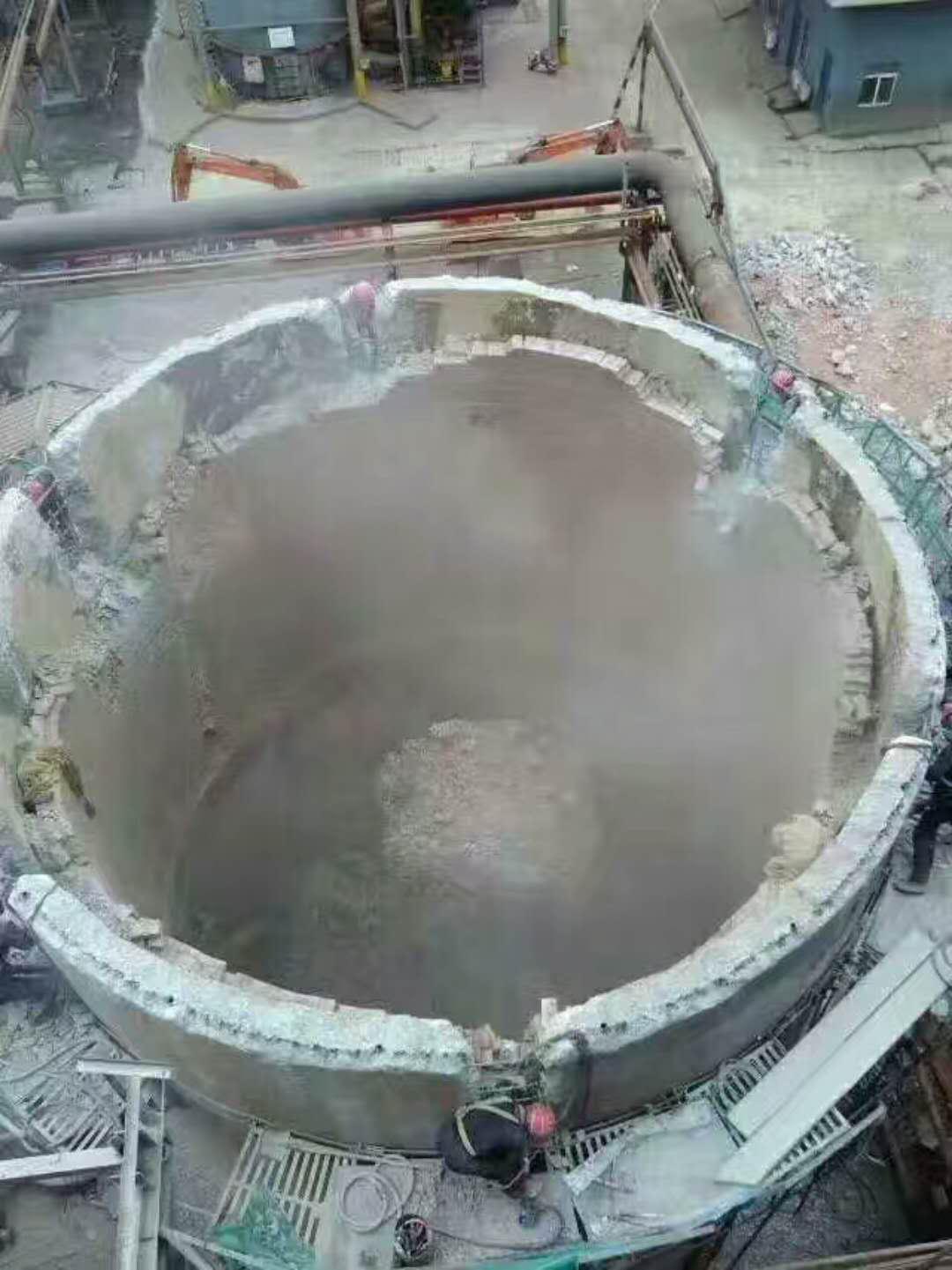 盐城烟囱拆除