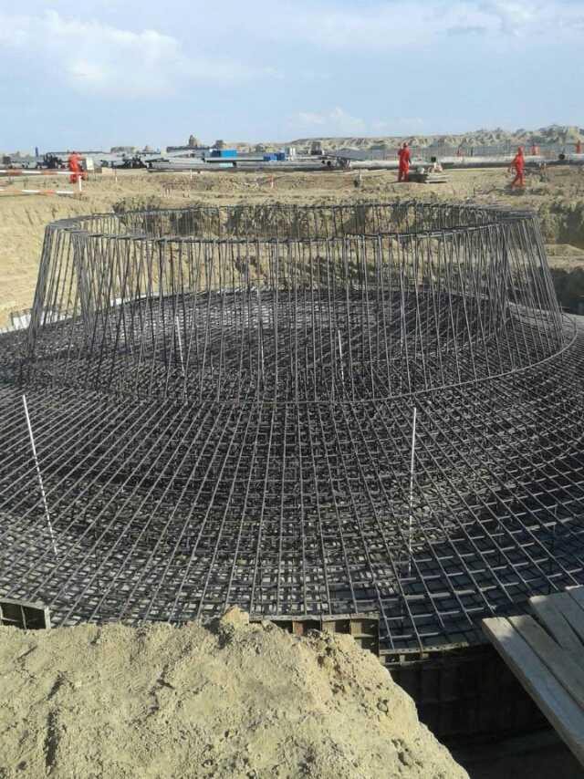 钢筋混凝土烟囱新建