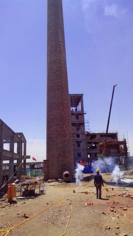 优质砖烟囱新建