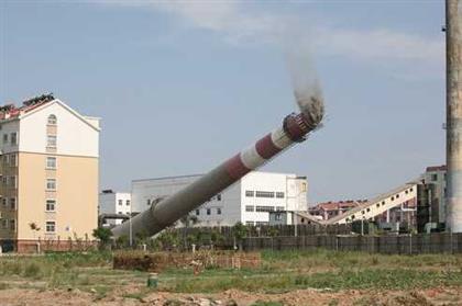 烟囱加固工程
