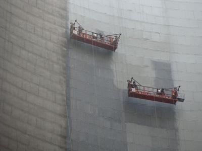 电厂凉水塔内壁防腐