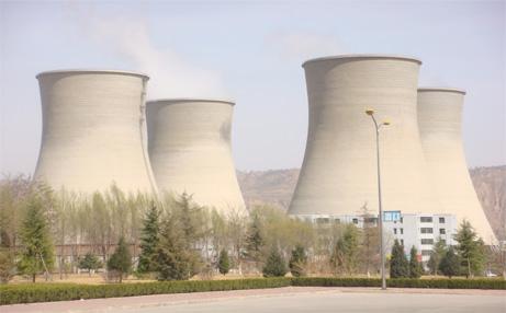 电厂凉水塔外壁防腐