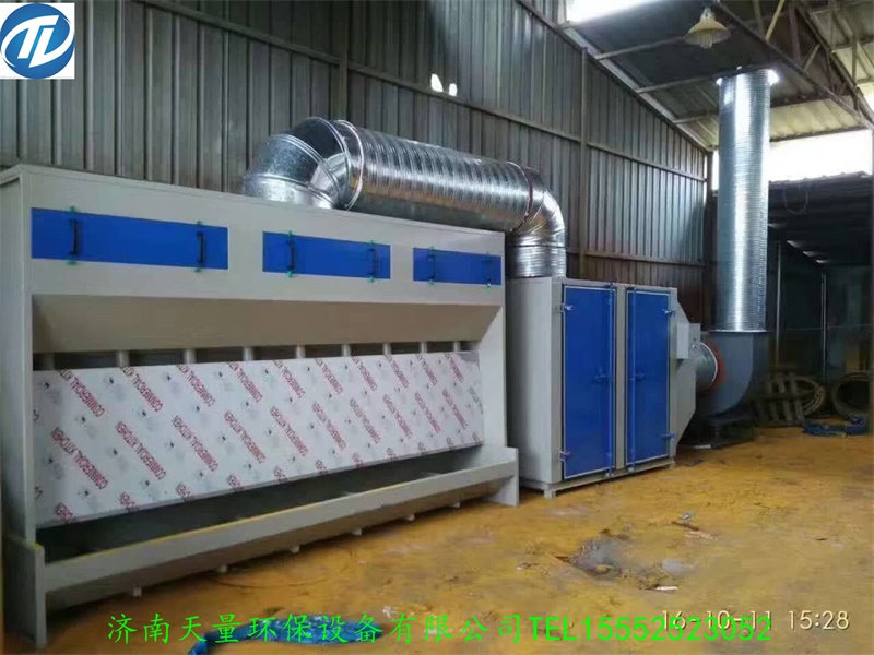 无泵水帘柜-烤漆房设备厂家