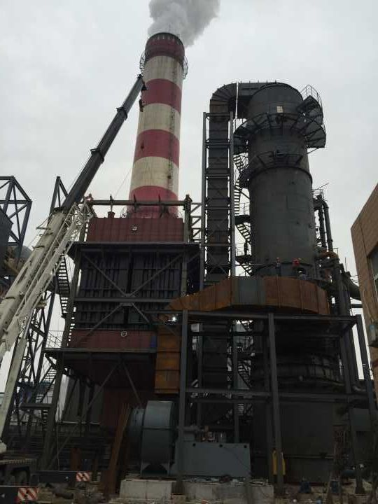 JNLS炭素烟气深度净化除尘