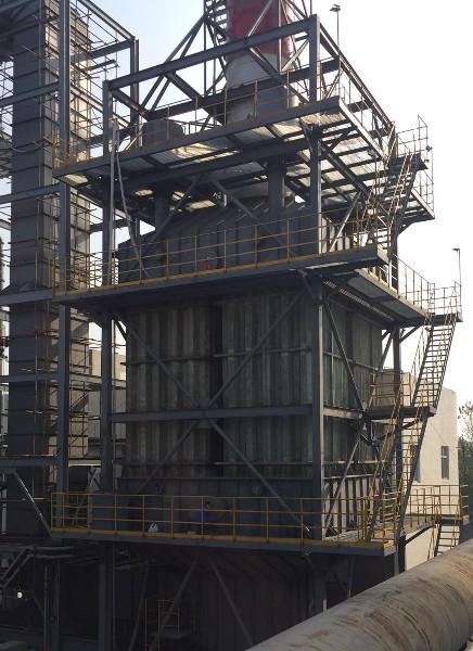 XFZX炭素煅烧炉湿式电除尘