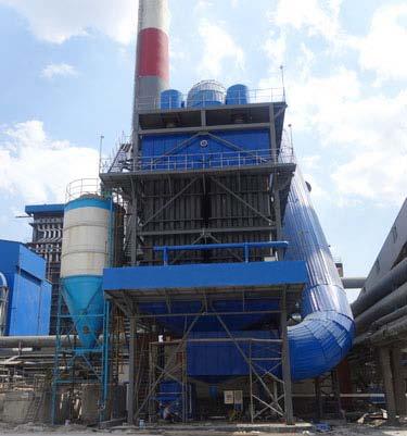 JNQQ热电循环流化床锅炉深度净化除尘