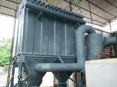 2吨生物质锅炉除尘器