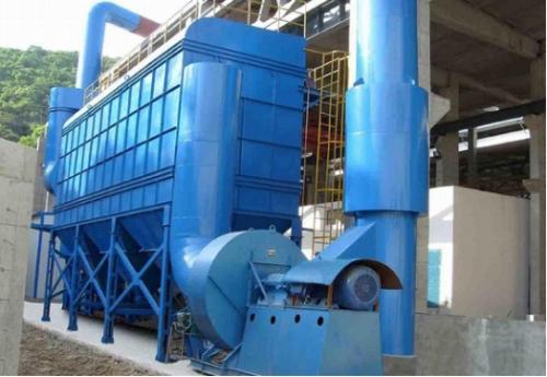 4吨生物质锅炉除尘器