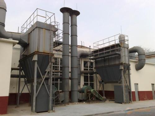 6吨生物质锅炉除尘器