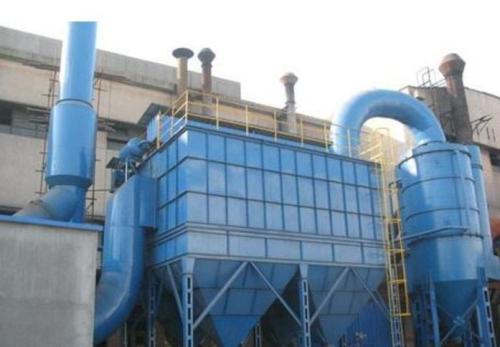 8吨生物质锅炉除尘器