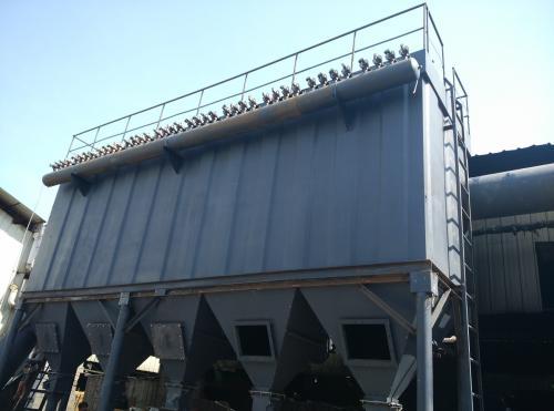 10吨生物质锅炉除尘器