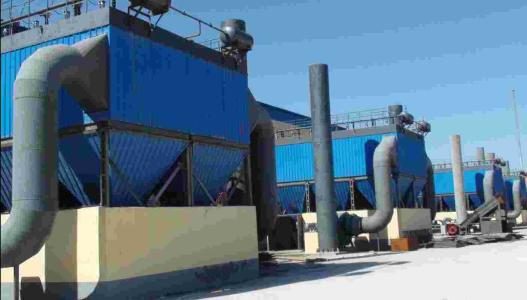 10吨煤炭锅炉收尘器