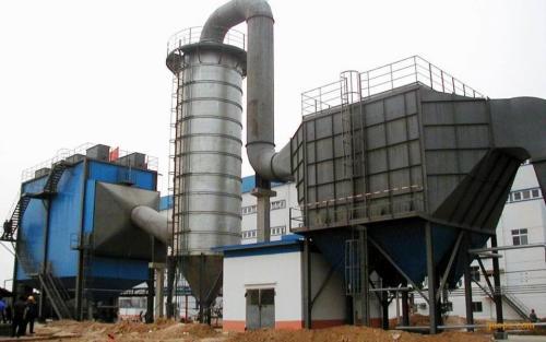 4吨煤炭锅炉除尘