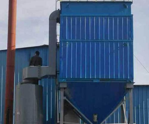 6吨生物质锅炉除尘