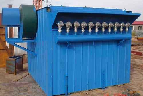 10吨生物质锅炉除尘