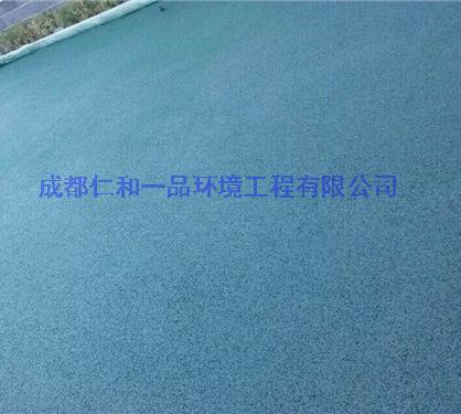 四川彩色透水地坪施工