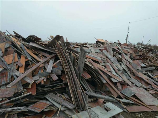 废旧建筑木材