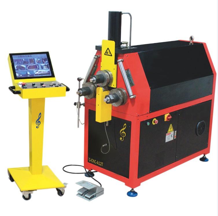 G-CNC-A12T数控型材弯弧机