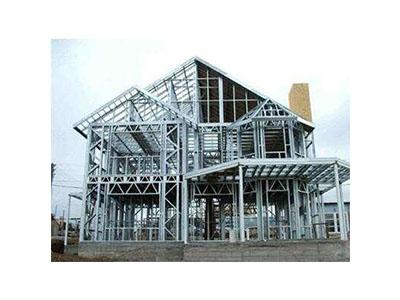 钢结构别墅房建造