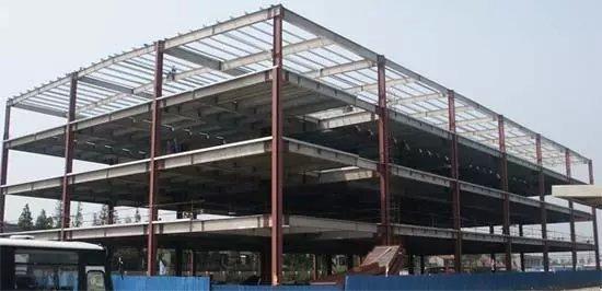钢结构楼房搭建
