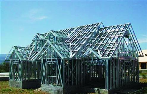 钢结构厂房搭建