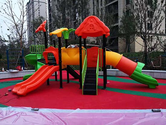 许昌儿童塑料滑梯