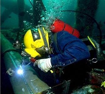水下切割施工