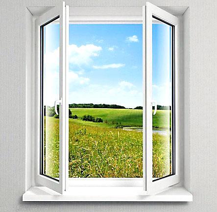 平开塑钢门窗