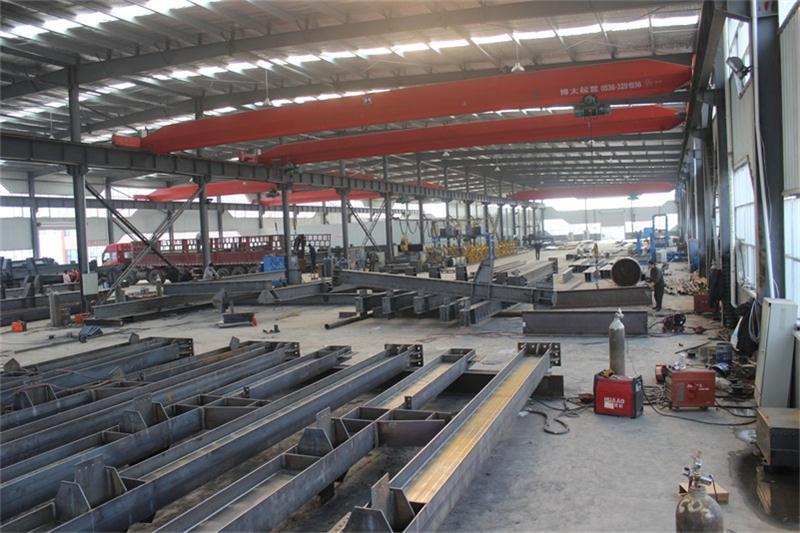 钢结构空中悬梁加工