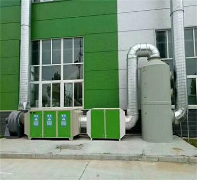 济南废气处理整套摄影厂家