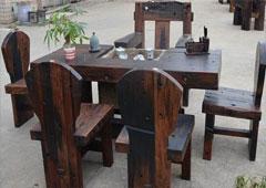 安顺贵阳防腐木桌椅
