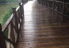 六盘水防腐木长廊