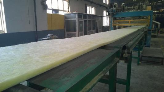 玻璃棉板制作