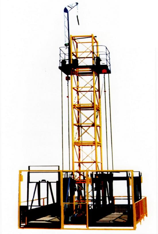双吊笼施工升降机