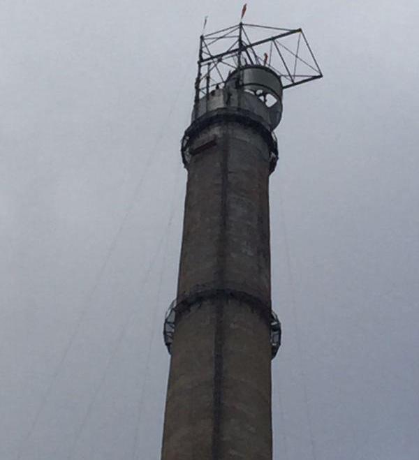 环保玻璃钢烟囱
