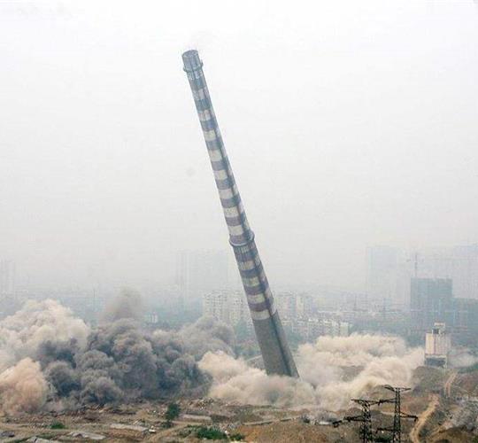 高空拆除施工