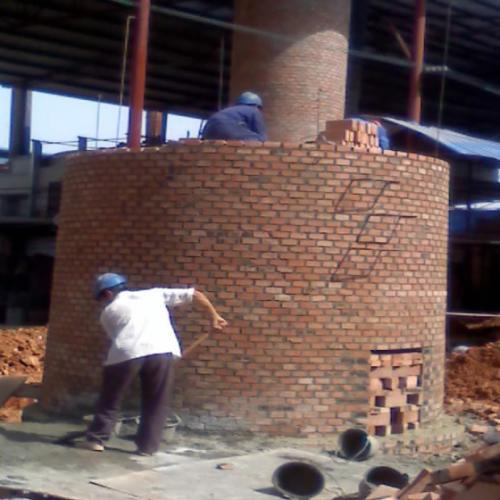 40米砖烟囱新建