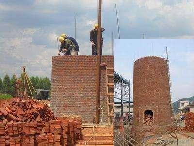 75米砖烟囱新建