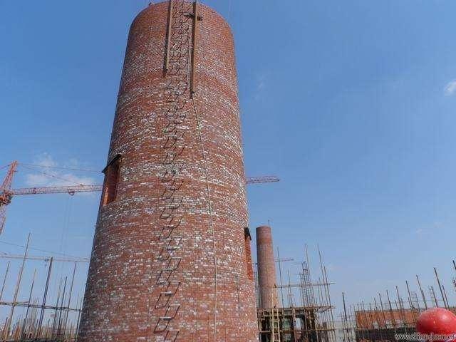 120米砖烟囱新建